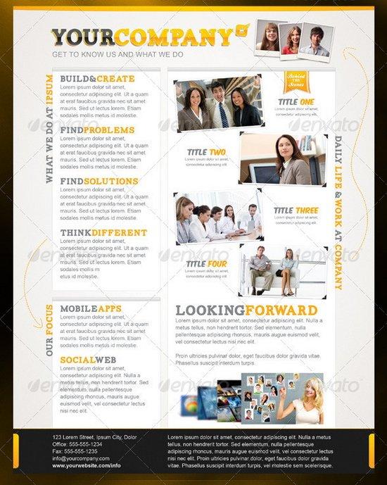 20 professional flyer templates for multi purpose business business flyer template 24 wajeb Gallery