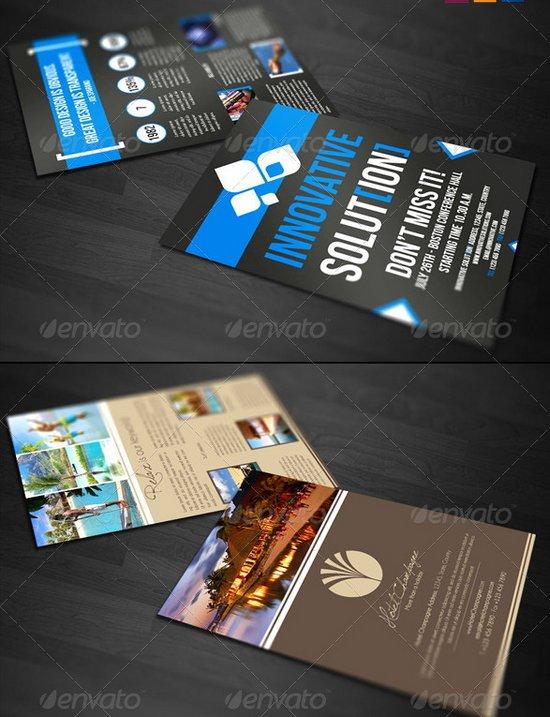 business flyer template 6