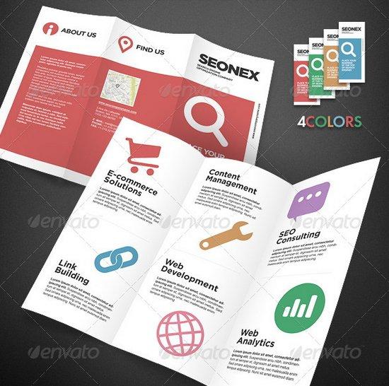 business flyer template 8