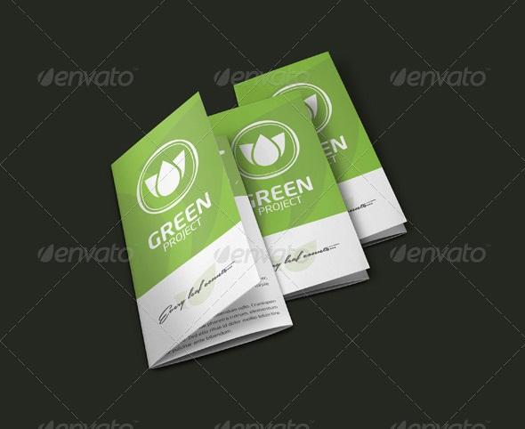 Eco - Trifold Brochure