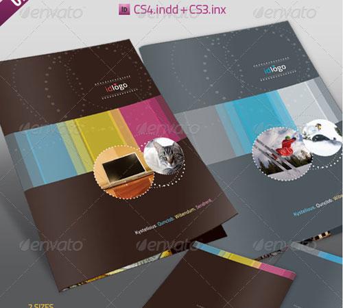 Creative Premium Brochure Template Designs Pixelscom - A4 brochure template