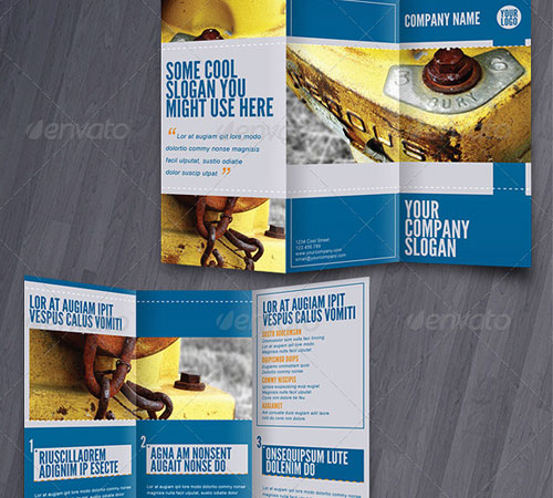 Tri-fold brochures PACK