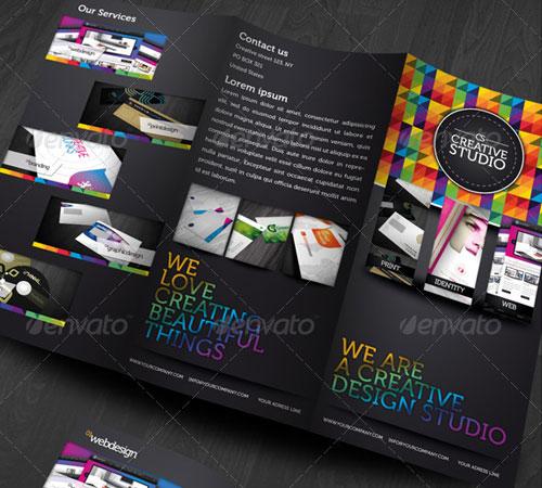 Creative Studio Trifold