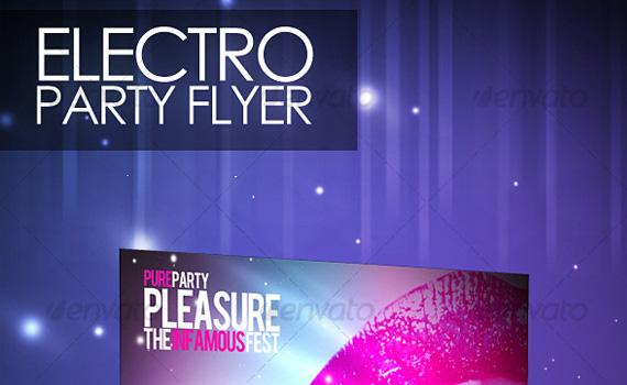 Electro-party-premium-print-ready-flyers