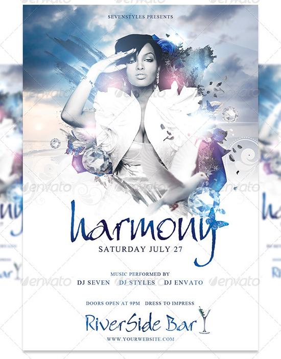 Harmony Flyer Template