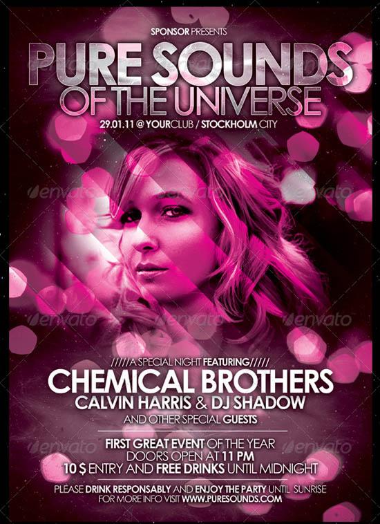 Nightclub Flyer Poster Vol 2