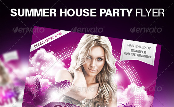 Summer-house-party-premium-print-ready-flyers