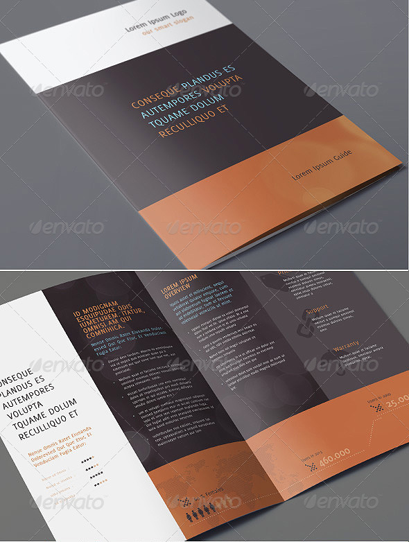 A4 Elegant Corporate Brochure