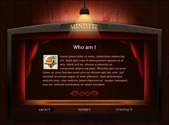 vCard Personal Portfolio Minisite