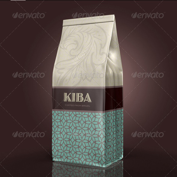 3D Object - Coffee Bag