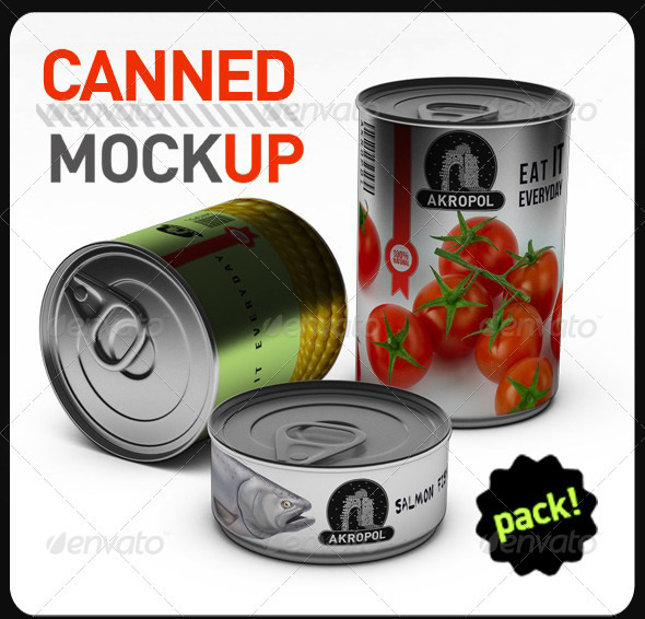 Canned Mock Up