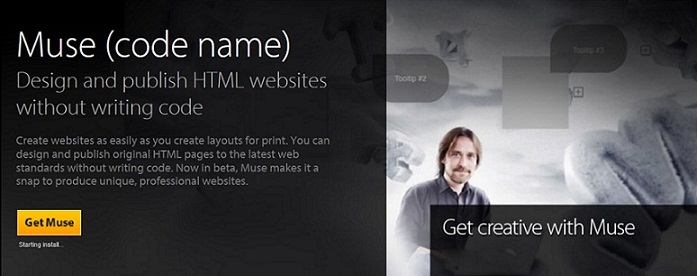 muse website - adobe muse templates
