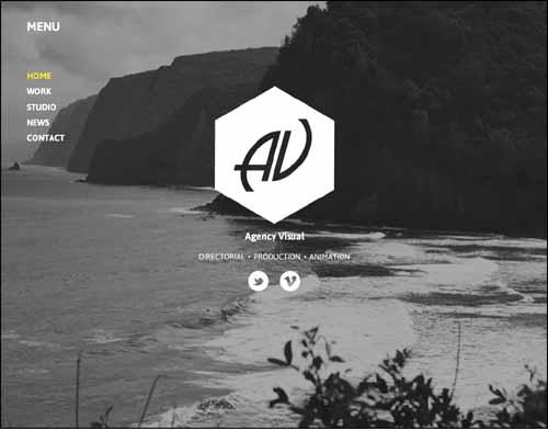 Agency Visual Portfolio Video Muse Theme
