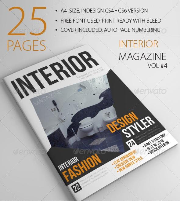 25 pages interior magazine vol4 - magazine templates