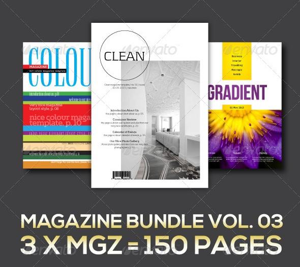 Magazine Collection - magazine templates