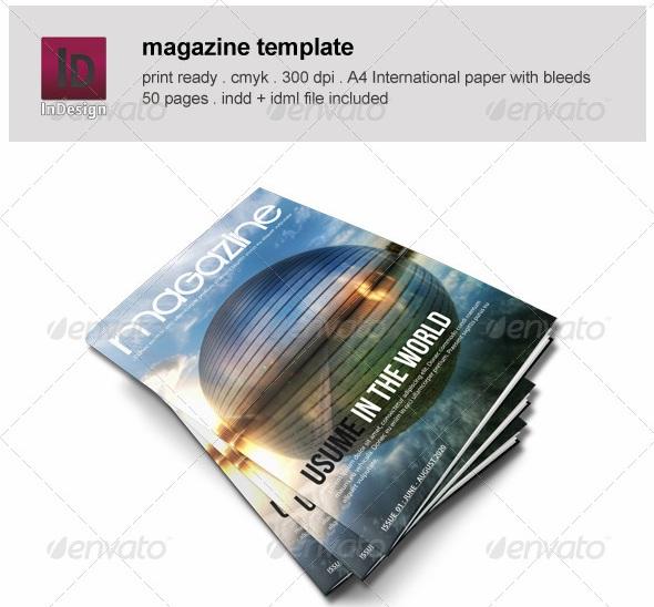 Pages Magazine Templates - magazine templates