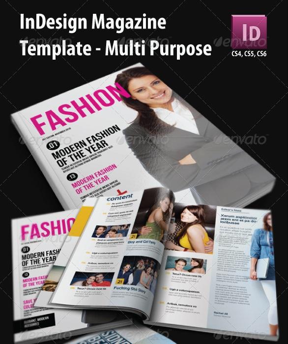 Fashion Magazine Templates - magazine templates