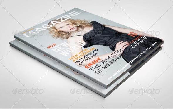Magazine Templates (Portrait) - magazine templates
