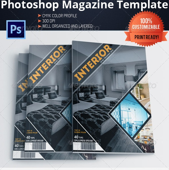 Download free and premium print magazine templates for Architectural design magazine free download