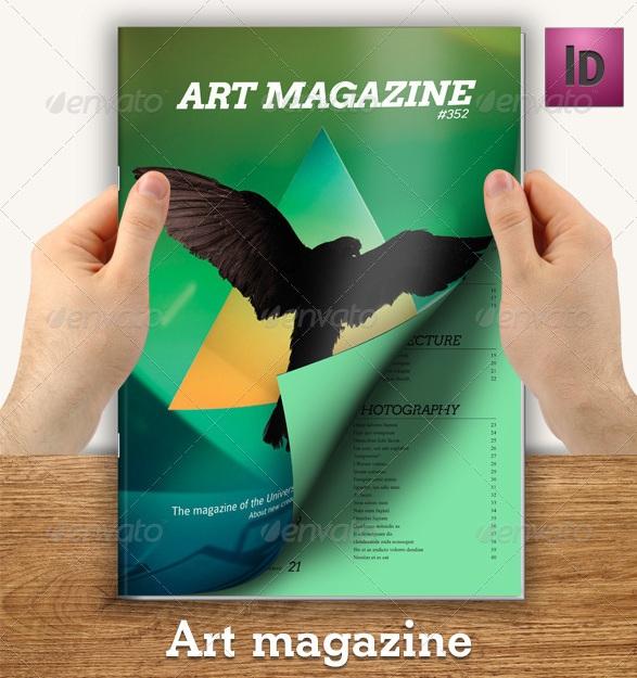 Art Magazine - magazine templates