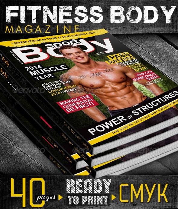 Fitness Body Magazine - magazine templates