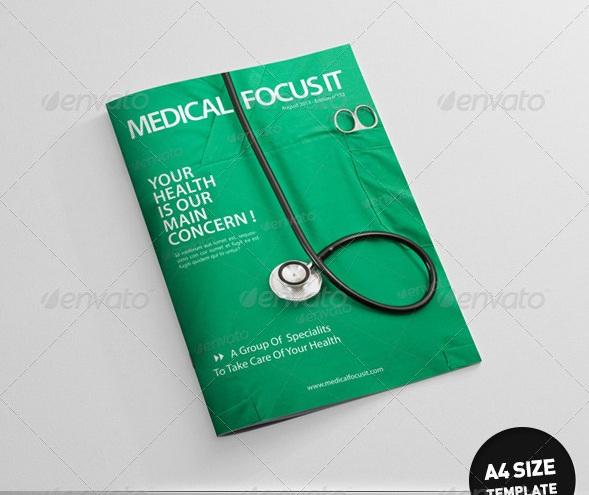 Health and Medical Magazine Templates - magazine templates