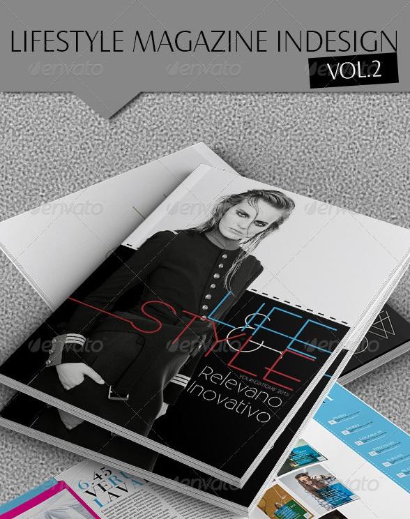 Indesign Lifestyle Magazine Template - magazine templates