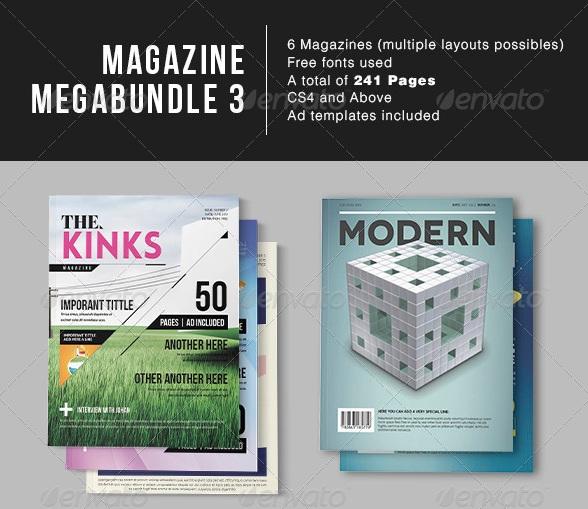 MGZ Mega Bundle - magazine templates