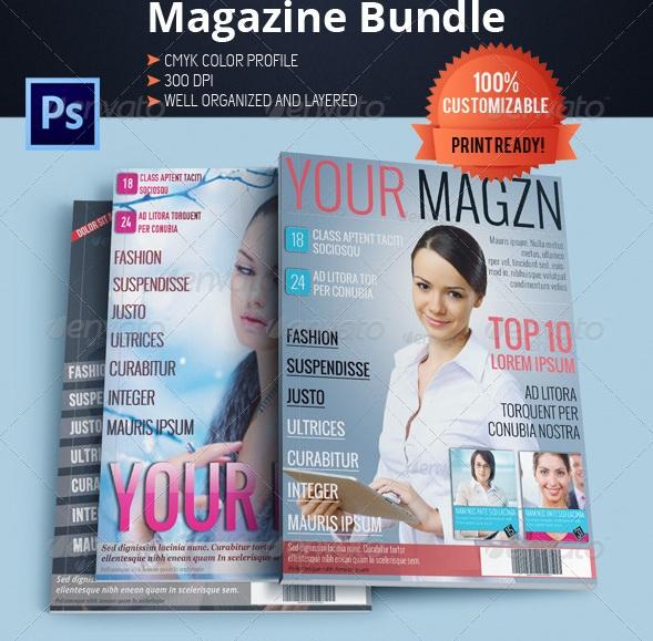 Magazine Templates Bundle - magazine templates