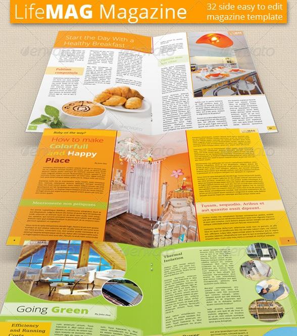 Multipurpose Magazine Templates - magazine templates