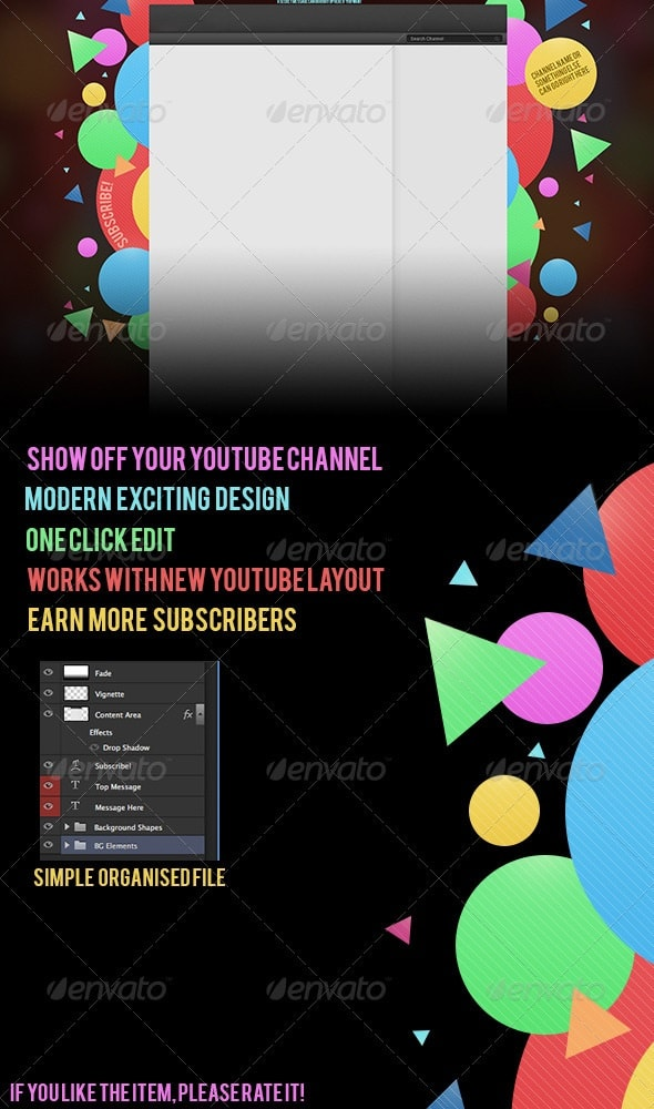 Youtube Channel Art Size Banner Thumbnail Icon: Awesome YouTube Banners And Backgrounds