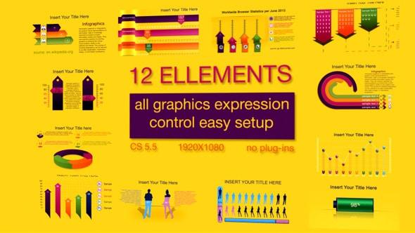 arrow infographic templates
