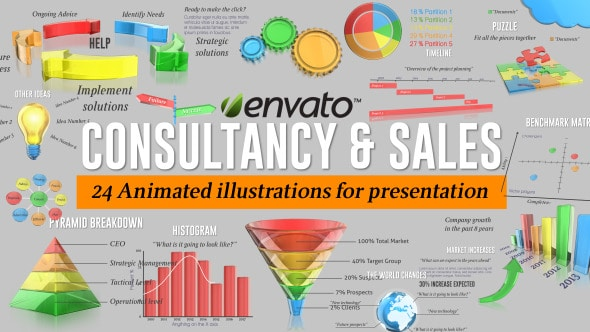 consultancy sale graphics