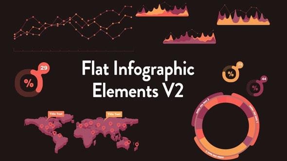 flat infographic elements v2