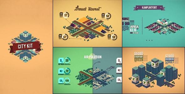 infographics city kit