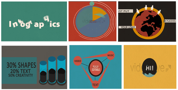 motion shapes infographic