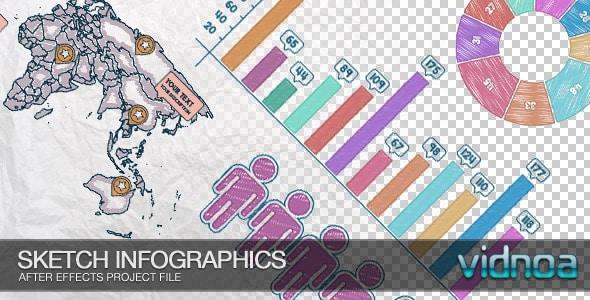 sketch infographics