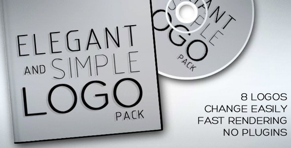 elegant and simple logo pack