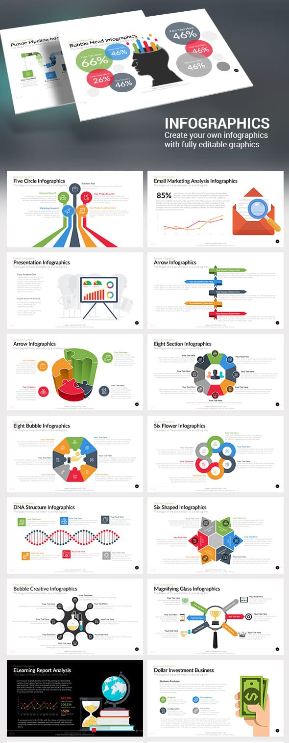 Download infographics templates ppt