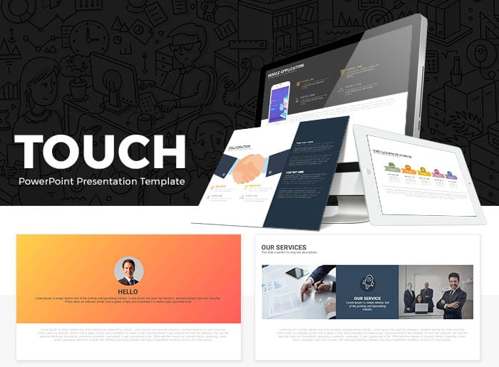 Touch Free PowerPoint Presentation Template