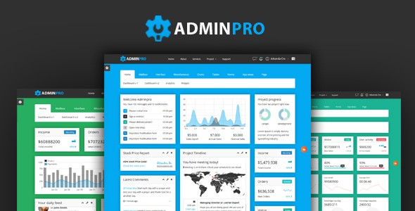 adminpro - admin template