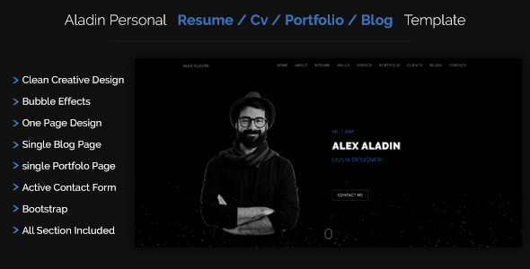 100 Best Portfolio Website Templates 56pixels Com