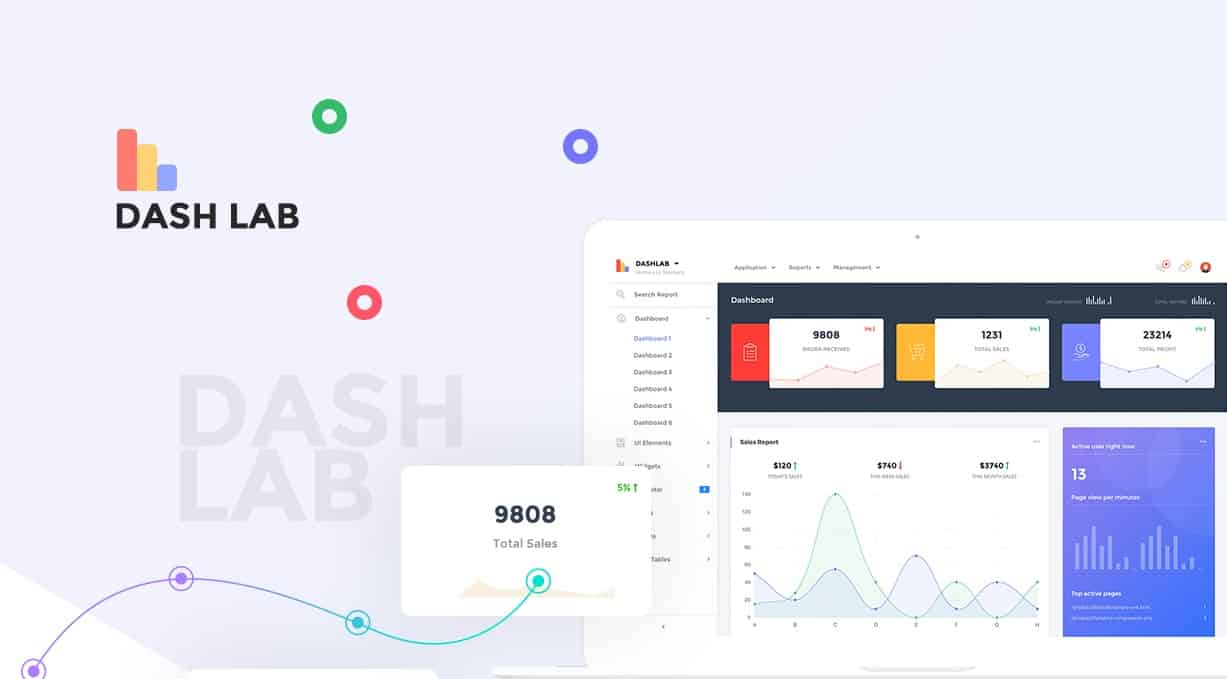 dashlab - bootstrap 4 responsive admin template