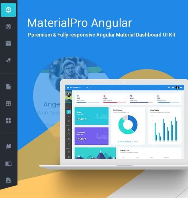 materialpro angular 5+ admin template