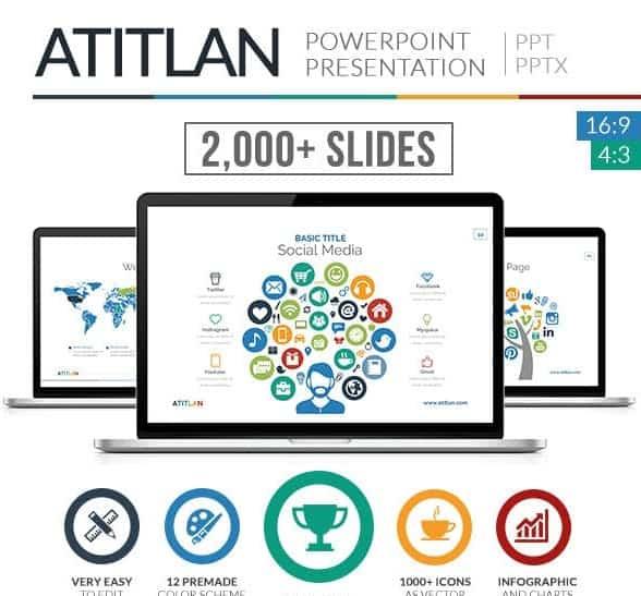 atitlan powerpoint presentation template