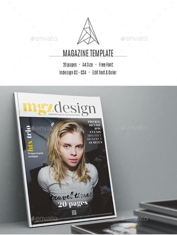 magazine template2