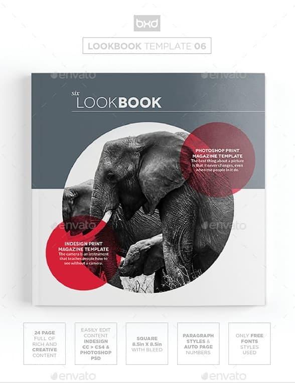 magazine/lookbook template indesign & photoshop 06