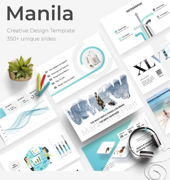 manila creative powerpoint template