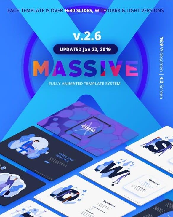 massive x presentation template v.2.6