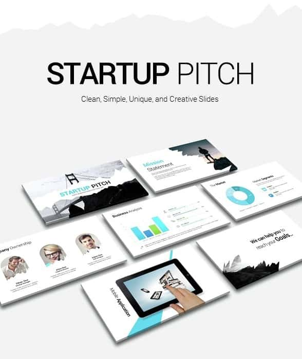 startup pitch presentation